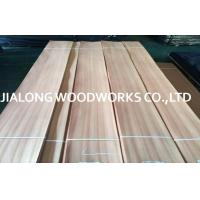 Sapelli Quarter Sliced Veneer Natural Wood Face Veneer for Interior Decoration Manufactures