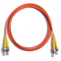62.5 / 125 Duplex Orange Fiber Optic Patch Cord , 5Mtrs PVC Lc To Sc Fiber Cable 1310nm / 1550nm Wavelength Manufactures