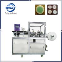 high speed auto  HT-960 body oval soap strech film pleat wrapping machine Manufactures