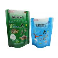 Custom Small Stand Up Pouch , Bottom Gusset Zipper Stand Bags Manufactures