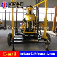 XYX-130 Wheel Type Hydraulic water well drilling machine rotary drilling rig /small bore well drilling machine Manufactures