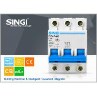 6kA air Miniature Circuit Breakers 16a 3p electrical mcb over - voltage protection circuit breaker Manufactures