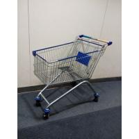 China Four Wheels European Metal Shopping Trolley Cart With Baby Seat on sale
