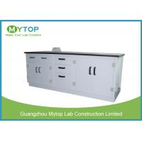 Acid Resistance Science Laboratory Furniture , PP Chemistry Lab Working Table Manufactures