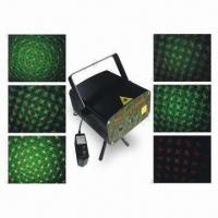 Laser Stage Lights, Comes in 50mW Green and 100mW Red Laser Fires in Sky with Different Patterns Manufactures