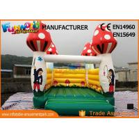 Buy cheap Small Children Inflatable Bounce Houses Bouncer Combo With Digital Printing from wholesalers