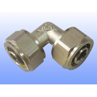 compression brass fitting equal elbow for PEX-AL-PEX Manufactures