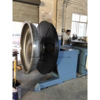 Heavy Duty Rotary Welding Positioner with Rotating and Tilting Motor 2Ton at vertical position Manufactures