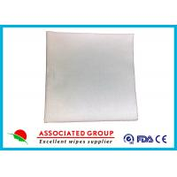 60~110 Gsm Dry Disposable Wipes , Hospital Dry Baby Wipes Strong Tensile Stretch Manufactures