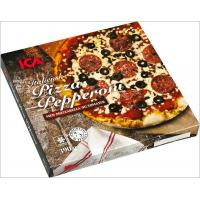 Italian Eco Friendly Empty Large Pizza Boxes 12 Inch Glossy Varnishing Surface