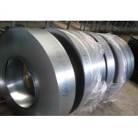 Commercial G350 Galvanized Metal Strips , Regular Spangle Galvanised Steel Strip,Bright Surface Manufactures