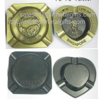 Quality Personalized casted branding engraved metal ashtray selection, metal cigar ash tray, for sale