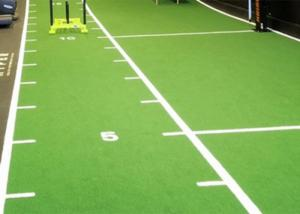 China Anti Slip Durable Indoor Artificial Turf For Football Stadium on sale