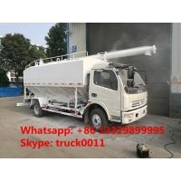 cheap factory supply 4*2 14m3 67ton DONGFENG bulk feed truck,farm-oriented livestock 7tons hydraulic feed delivery truck Manufactures
