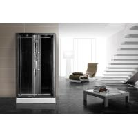 Quality Matt Black Profiles Corner Walk In Shower Enclosures 1200 X 900 Rectangular Grey for sale
