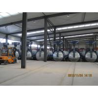 Concrete Autoclave with hydraulic pressure door-opening and safety interlock Manufactures