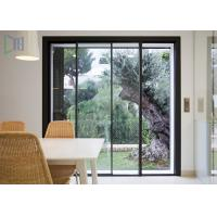 Quality Thermal Break System Aluminium Sliding Doors Heat Insulation With Double Glazing Glass for sale