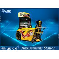 Fashion Design Driving Arcade Machines / Car Racing Machine 4 Players Competition Manufactures
