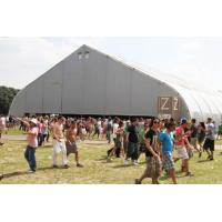 Huge Curve Tent For Trade Show 30x200m Aluminium alloy T6061-T6 Manufactures