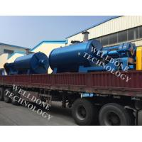 Organic Waste Rotary Cone Vacuum Dryer Hot Water Heating 150Kgs Loading Manufactures