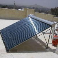 EN12975  Plate Solar Collector with 1.5mm Aluminum Alloy Frame and Tempered Glass Manufactures