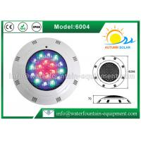 Plastic Material Underwater Pool Lights High Power Wall Hung Type For Swimming Pool Manufactures