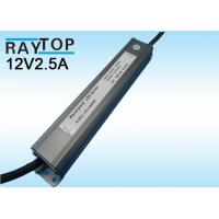 China Transformator power supply 30W12V LED Waterproof Driver FCC Part 15B IP68 With CE RoHS on sale