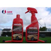 Red Color Realistic Shape Inflatable Promotional Products Bottle Food SGS Manufactures