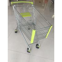 150L Supermarket Shopping Carts , Steel Shopping Trolley Passed CE And SGS Manufactures