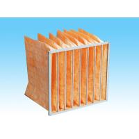 hot sale F8 EN779 90-95% 6 pocket bag filter Manufactures