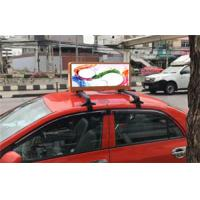 Quality HD Outdoor WIFI&USB Taxi Top Advertising LED Display Taxi Top LED Display China for sale