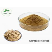 China Natural Astragalus Root Extract Powder Relieving Stresses 24 Months Shelf Time on sale
