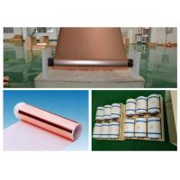 Mobile Phone Lithium ion Battery Copper Foil , 20 Mic Electrolytic Copper Foil Manufactures