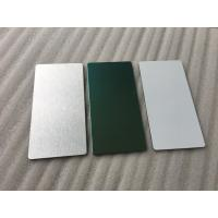 Buy cheap Glossy Silver Aluminum Sandwich Panel Decorative ExteriorWall Panels from wholesalers