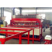 High Strength Reinforcing Mesh Welding Machine , 5 - 12mm Fencing Wire Machine Manufactures