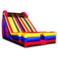 Dual 2  Lanes Large Inflatable Slide 0.55 Mm PVC Tarpaulin Enviroment - Friendly Manufactures