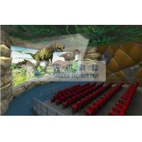 Pneumatic / Hydraulic / Electrical 4D Theater System , 4d dynamic cinema with fog windy aromatic Manufactures