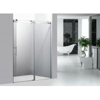 8 mm Tempered Glass Shower Doors / Sliding Bathroom Door 1200 × 1900 MM Manufactures