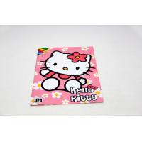 Hello Kitty Nontoxic Saddle Stitch Book Printing And Binding for Student Manufactures