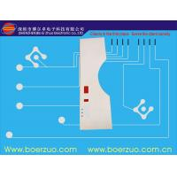 Embossed Push Button LED Membrane Switch , 3M Adhesive And LCD Window Manufactures
