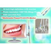 Buy cheap Multimedia Intraoral camera with high resolution image , Multimedia Play(AV,TV from wholesalers