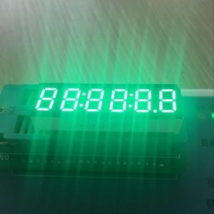 "Long Lifetime Digital Clock Display Pure Green 0.36"" 6 Digit For Instrument Panel Manufactures"