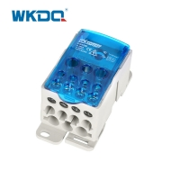 Buy cheap Industrial Power Wire Distribution Block , Din Rail Distribution Block UKK 250A from wholesalers