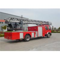 Six Seats Aerial Ladder Fire Truck Manufactures