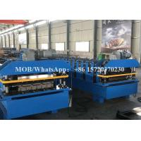 High Speed Roofing Corrugated Roll Forming Machine With Track Cutting 35m / Min Manufactures