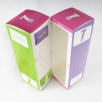 Quality Paper personalized Customized Boxes Printing with PVC Window for Packaging for sale