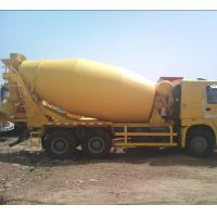 Buy cheap 6*4 12.00R20 Mobile Cement Mixer Trucks Diesel Fuel Type FOB CIF CFR from wholesalers