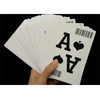310gsm Black Core Paper Casino Playing Cards Professional Custom with Bar Code Manufactures