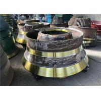 Wear Resistant Cone Crusher Parts Mn21cr2 Concave And Mantle Customized Design Manufactures