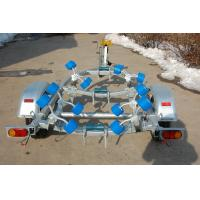 Professional Single Jetski Folding Boat Trailer With ST175/80R13X2 Tire Manufactures